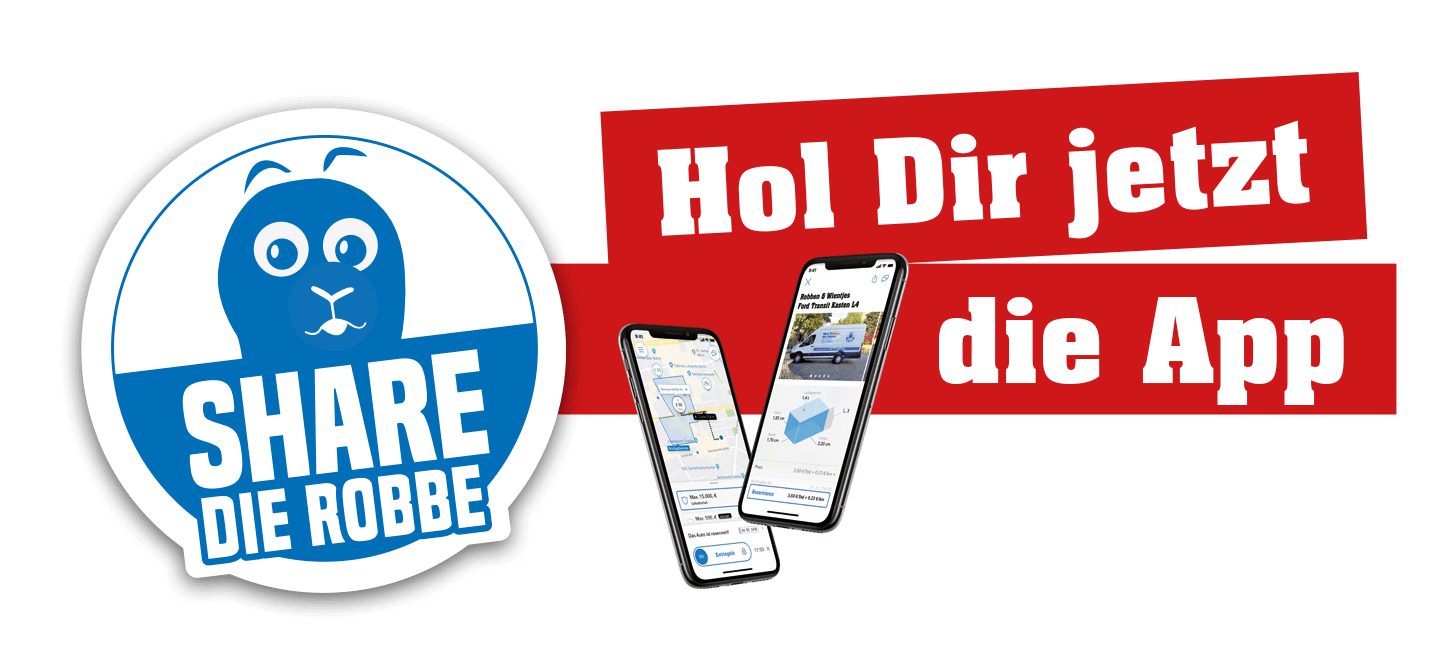 Hol Dir jetzt die Share die Robbe-App